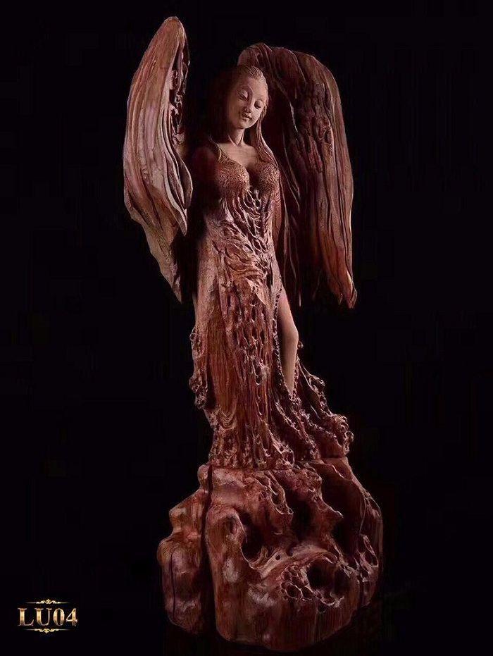 Mẫu lũa thiên sứ nguyên bản có giá trị nghệ thuật cao